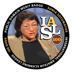 Justice Sotomayor Merit Badge